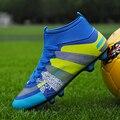 Высокие футбольные бутсы для ногтей  дышащие защитные футбольные бутсы  модные футбольные бутсы