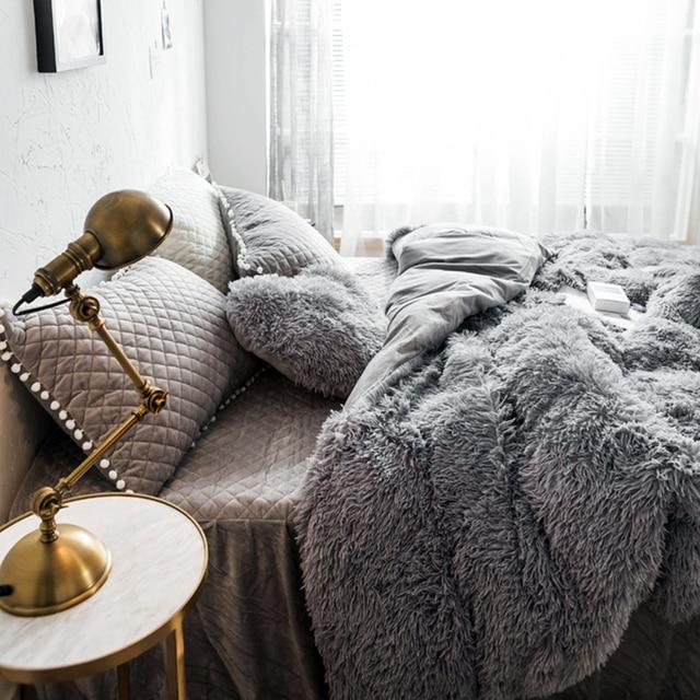 Warm Fluffy Blanket for Bed 4