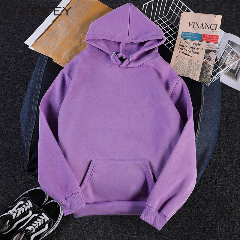 LERFEY Sweatshirts Female Hoodie Plus Size Sweatshirt Hoodies  Long Sleeve Hoody For Women Autumn Spring Hooded Sweatshirt