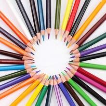 Цветные карандаши для детей 36 цветов с мультяшным аниме Цветная