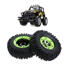 2PCS Wltoys 12428 12423 1/12 RC Car Spare Parts Left Wheels Tires Replacement