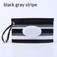 black gray stripe