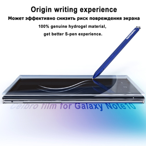 Image 2 - Hydration Film for Samsung Galaxy S10 S8 S9 Plus S10E Screen Protector Cover not Tempered Glass for Samsung Note 8 9 10 Plus Pro