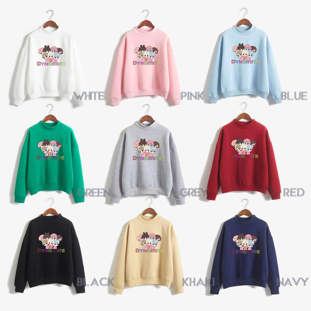 anime hoodie kpop winter couple clothes korean harajuku oversize crewneck sweatshirt  fall 2020 women clothing long sleeve tops 3