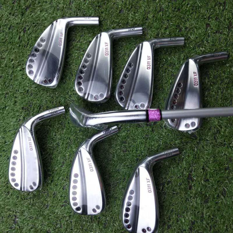 Golf Clubs 0311XF Gen2 Irons Set 4-9WG Golf Irons 8pieces R/S Flex Steel Graphite Shaft With Headcover DHL Free Shipping
