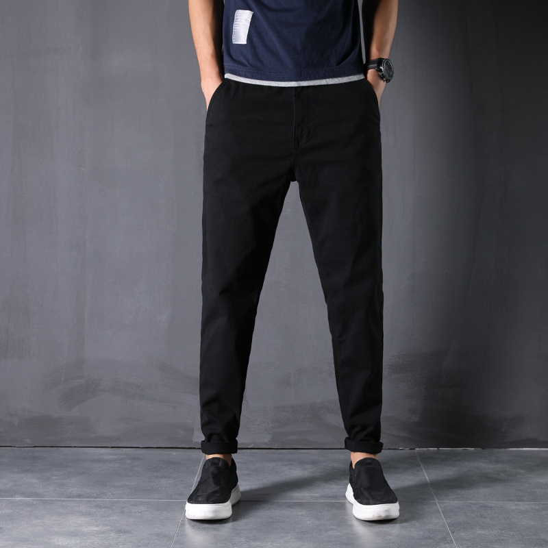 New Pants Man 28-48 High-Elastic Large Size Full Length Harem Trousers Loose Comfortable Classic Smart Casual Daily Clothes