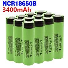 2-20 шт NCR18650B 3,7 v 3400mah 18650 литиевая аккумуляторная батарея для Panasonic фонарик батареи