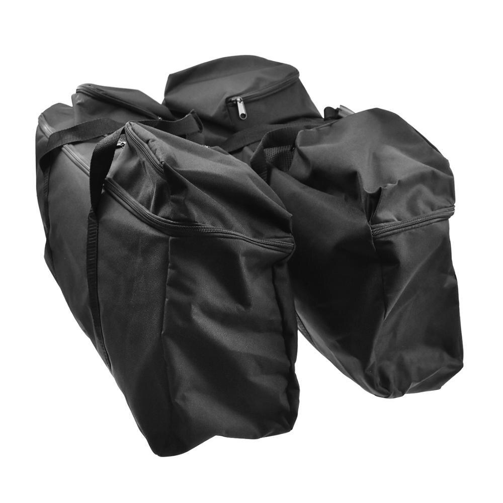 Motorcycle Saddlebag Luggage Liner Travel Bag Saddle Bag For Harley Touring Road King Electra Street Glide Ultra FLTR FLHX 93 18