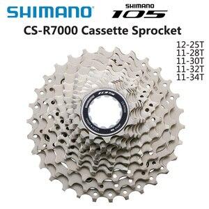 Image 1 - شيمانو 105 CS 5800 R7000 كاسيت عجلة حرة 11 سرعة الطريق الدراجة 11 28T 11 32T 11 34T كاسيت ضرس دراجة أجزاء