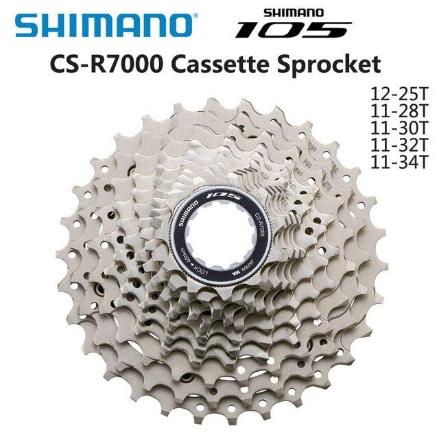 شيمانو 105 CS 5800 R7000 كاسيت عجلة حرة 11 سرعة الطريق الدراجة 11 28T 11 32T 11 34T كاسيت ضرس دراجة أجزاء