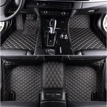 Автомобильные коврики на 5 сидений, для bmw 7 серии E38 E65 E66 E67 F01 F02 F03 F04 G11 G12 740i 740iL 745Li 750iL 760i