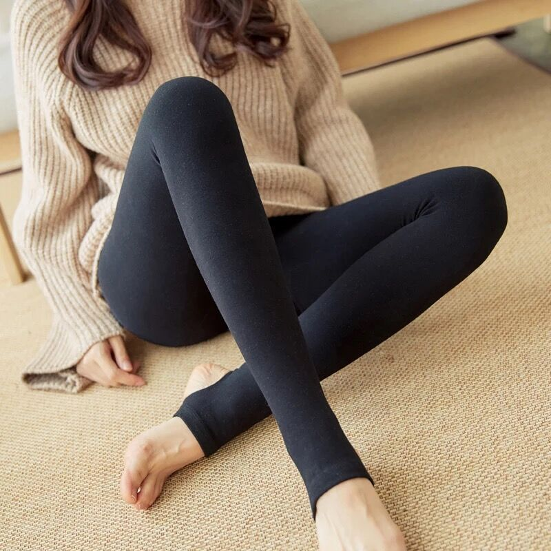 2019 Autumn And Winter New Warm Leggings Slim Warm Pants Women