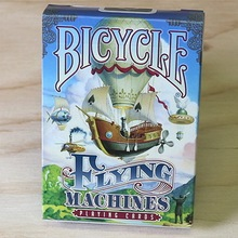 Bicycle Flying Machines Playing Cards Standard Poker Size USPCC Limited Edition Deck New Sealed Magic Cards Magic Tricks Props недорого