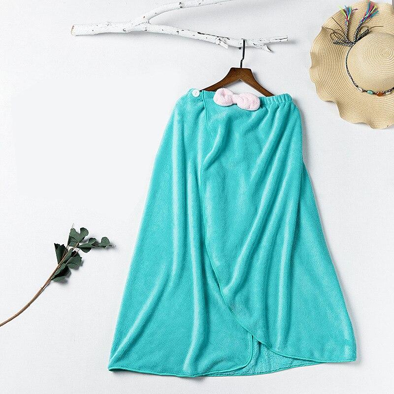Super Absorbent Towel Women Robes Bath Wearable Towel Dress Womens Lady Fast Drying Beach Spa Magical Sleeping Wear bath towel
