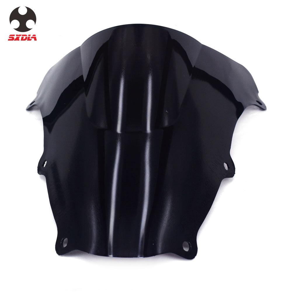 Motorcycle Plastic <font><b>Windshield</b></font> WindScreen Wind For <font><b>SUZUKI</b></font> <font><b>SV650</b></font> SV650S 2003-2012 SV1000 SV1000S 2003-2008 image