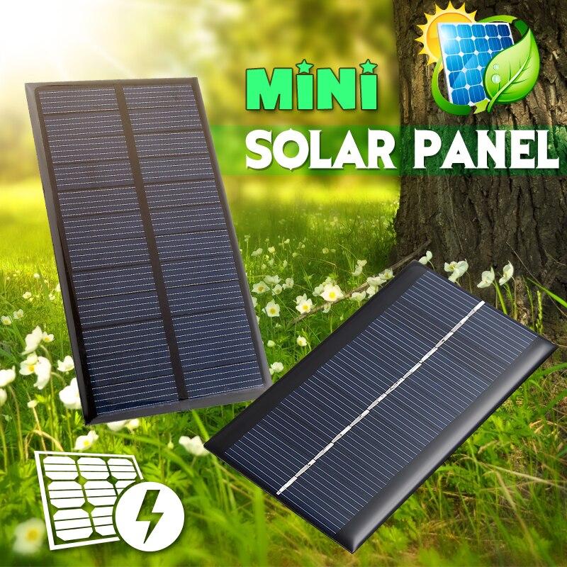 20 шт., солнечные мини-панели, 6 В, 1 Вт