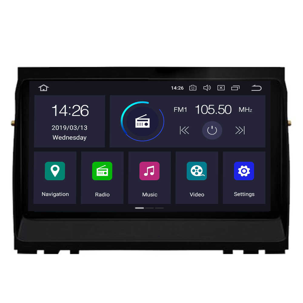 Android 9,0 4 + 64G reproductor Multimedia para Land Rover Discovery 3 LR3 L319 2004 ~ 207, 2008 2009 GPS Radio unidad DAB Wifi