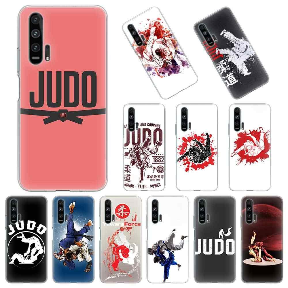 Judo Cassa Del Telefono Del Silicone per Huawei Honor 10 10i 20 Lite 30 Pro 20i 30s 8A 9A 8X 9X 9S 9C Trasparente Molle Della Copertura