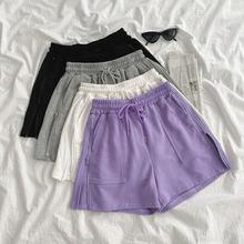 Повседневные домашние штаны женские пижамы шорты одежда для