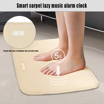 Soft Carpet LED Alarm Clock