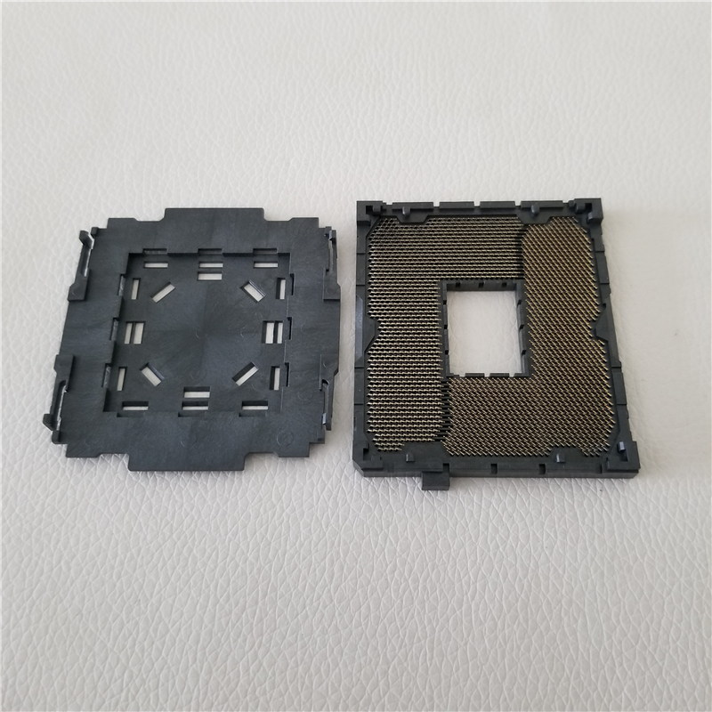LGA <font><b>2011</b></font>-1 LGA2011 V1 CPU Soldering CPU Repair Replacement <font><b>Socket</b></font> with Tin Balls back side for <font><b>X79</b></font> Series Motherboard image
