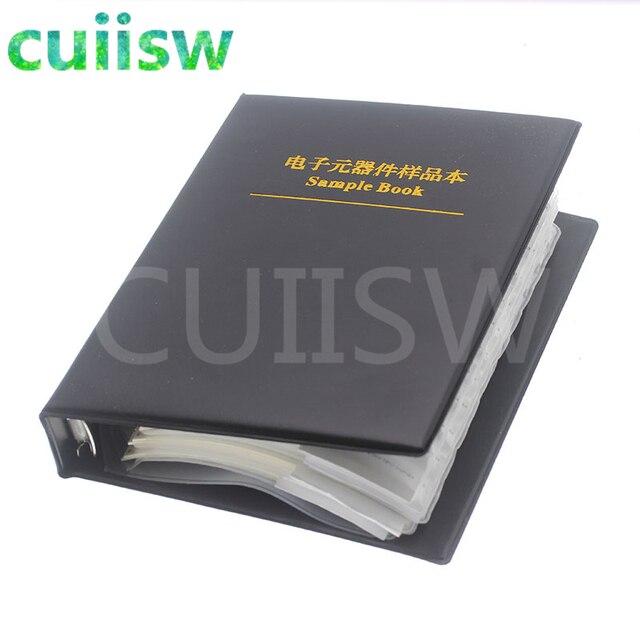 0805 SMD Capacitor Sample Book 92valuesX50pcs=4600pcs 0.5PF~10UF Capacitor Assortment Kit Pack 4
