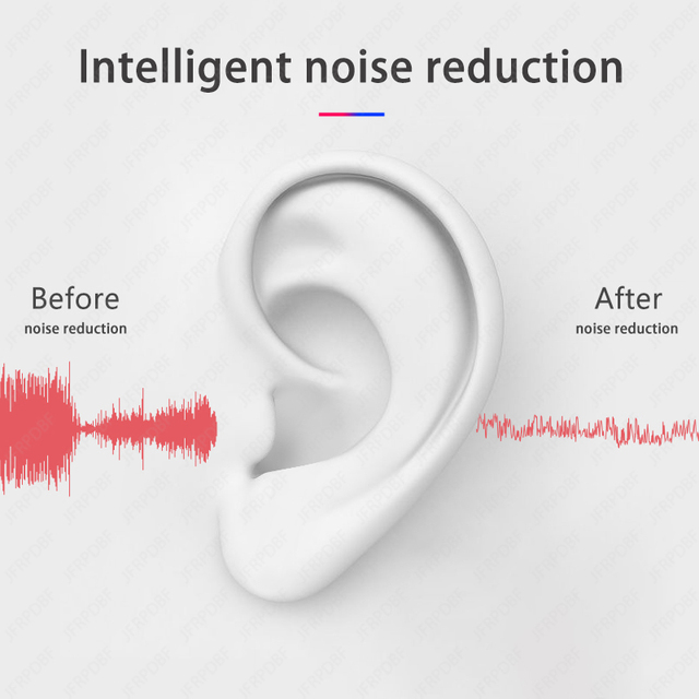 Mini Pro 4 TWS Bluetooth Earphones Hi-Fi Wireless Headphones In-Ear Stereo Earbuds Hands-Free Headset For Smart Phone 4