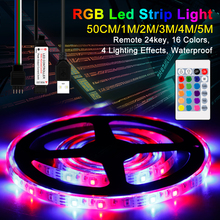 цены 50CM 1M 2M 3M 4M 5M RGBW USB LED Strip Flexible Light Led Lamp Tape Waterproof RGB Strip Led 5V TV Backlight Lighting Decor Lamp