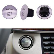 Автомобиль без ключа Start Stop одна кнопка запуска кнопка Зажигания Защитная крышка для Mercedes