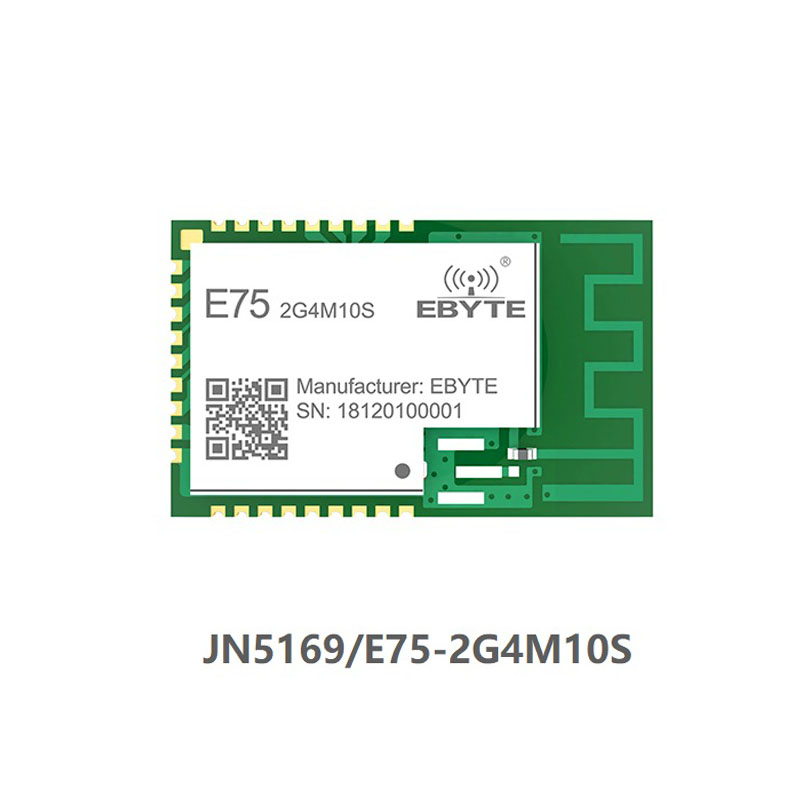 E75-2G4M10S Zigbee JN5169 2.4Ghz 10dBm PCB IPEX Connector IoT uhf Wireless Transceiver 2.4 ghz Transmitter and Receiver Module image