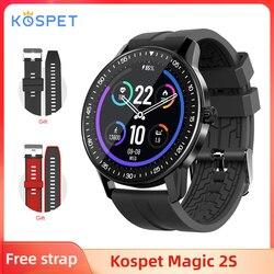 KOSPET MAGIC 2S inteligentny zegarek dla mężczyzn 3ATM wodoodporny Smartwatch Fitness z nadajnikiem 2020 pływanie inteligentny zegar dla iOS telefon z systemem Android