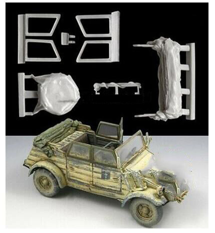1/35 Ancient Accessories (NOT INCLUDE CAR )  Resin Figure Model Kits Miniature Gk Unassembly Unpainted