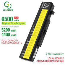 Golooloo 6500 мАч 6 ячеек, Новый аккумулятор для ноутбука LENOVO G580 Z380 Z380AM Y480 G480 V480 Y580 G580AM L11N6R01 L11S6Y01 L11L6Y01