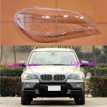 Car Headlamp Lens For BMW X5 E70 2008 2009 2010 2011 2012 2013 Car Headlight cover Headlamp Lens Auto Shell Cover