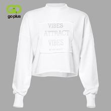 GOPLUS Winter Women's Sweatshirt Hoodies Kpop Bts-bangtan Black Round Neck Hoodies Women Pullover Streetwear Bluzy Damskie C8177