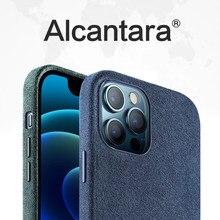 SanCore ALCANTARA Case For iPhone12 12Pro 12ProMax 12Mini Case iPhone11 11Pro 11Promax Cover Case All-inclusive mobile Phone