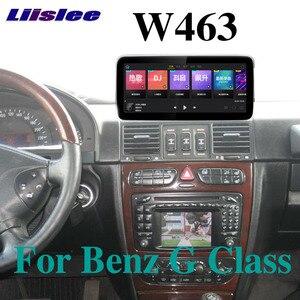 Dla Mercedes Benz MB Puch G klasa W463 G63 350 AMG 1997 ~ 2012 Liislee samochodowy odtwarzacz multimedialny NAVI CarPlay Radio nawigacja GPS