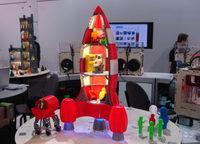 Rocket ship Custom order highqualityhighprecision digital models 3D printing service Funny Toys ST6026