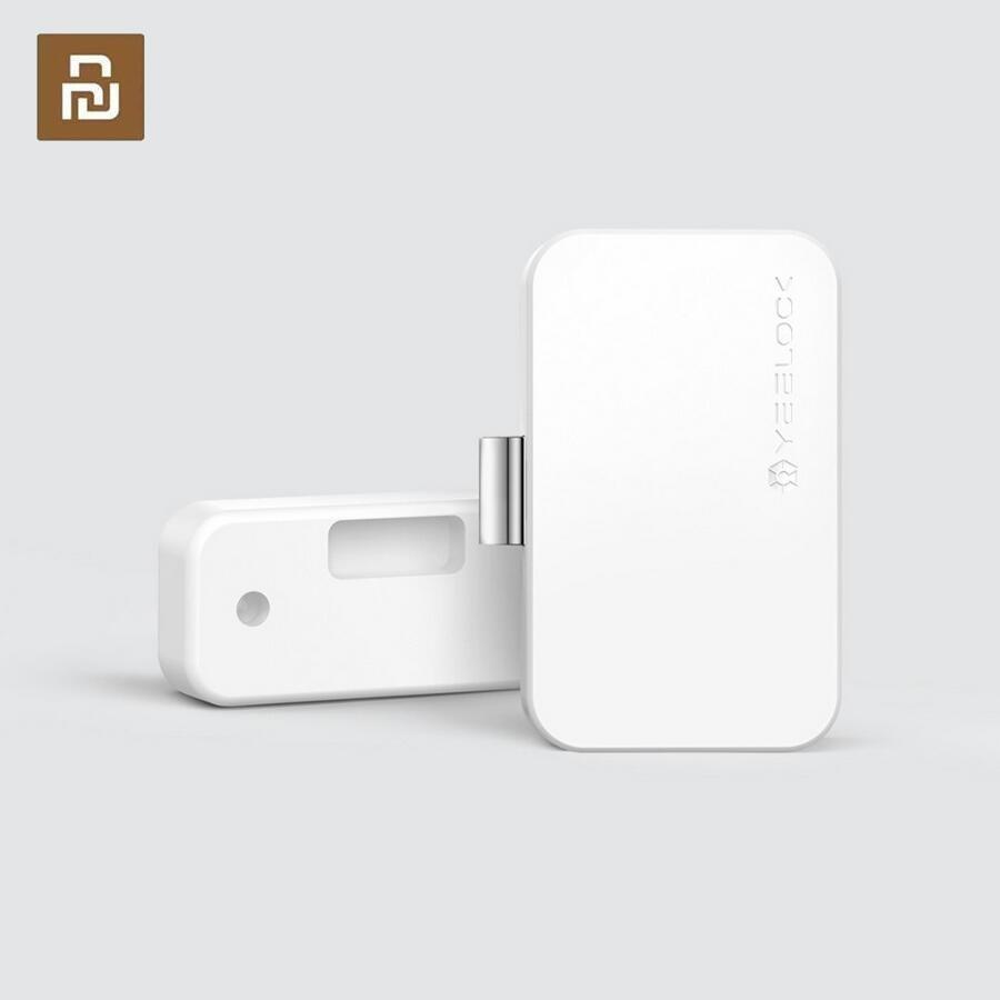 Youpin YEELOCK Умный Замок шкафа ящика без ключа Bluetooth приложение разблокировка Противоугонная Детская безопасность файл безопасности