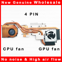 Radiator Hasee Fan Cooler Laptop Heatsink Clevo for Nh50/Nh50rc/Hasee/.. 5V 4PIN