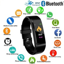 bounabay blood pressure smart bracelet watch for women watches ladies clock bluetooth waterproof android ios woman touch screen Smart Bracelet Men Women Smart Watch Bluetooth Blood Pressure  Waterproof Fitness Tracker Smartwatch for Android IOS