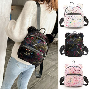 Women Mini Backpack Girls School Bags Small Travel bag Shoulder Bag фото