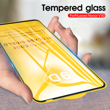 Protective Glass On For Huawei Honor V30 Glass V 30 Pro V30Pro Full Cover Screen Protector Tempered Glass Film for Honor V30 Pro glass for huawei honor view 30 pro tempered glass full cover glue screen protector for huawei honor view 30 for honor v30 glass