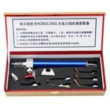 HHO Ювелирный инструмент, водный кислородный сварочный фонарь с 5 наконечниками, ювелирное оборудование, инструменты GoldsmithS