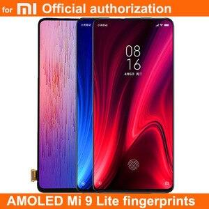 Image 2 - Nowy wyświetlacz AMOLED dla 6.39 Xiaomi Redmi K20 PRO MI9T LCD ekran dotykowy Digitizer odciski palców zgromadzenie dla Xiaomi Mi 9T