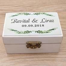 Коробка для обручальных колец коробка обручального кольца в