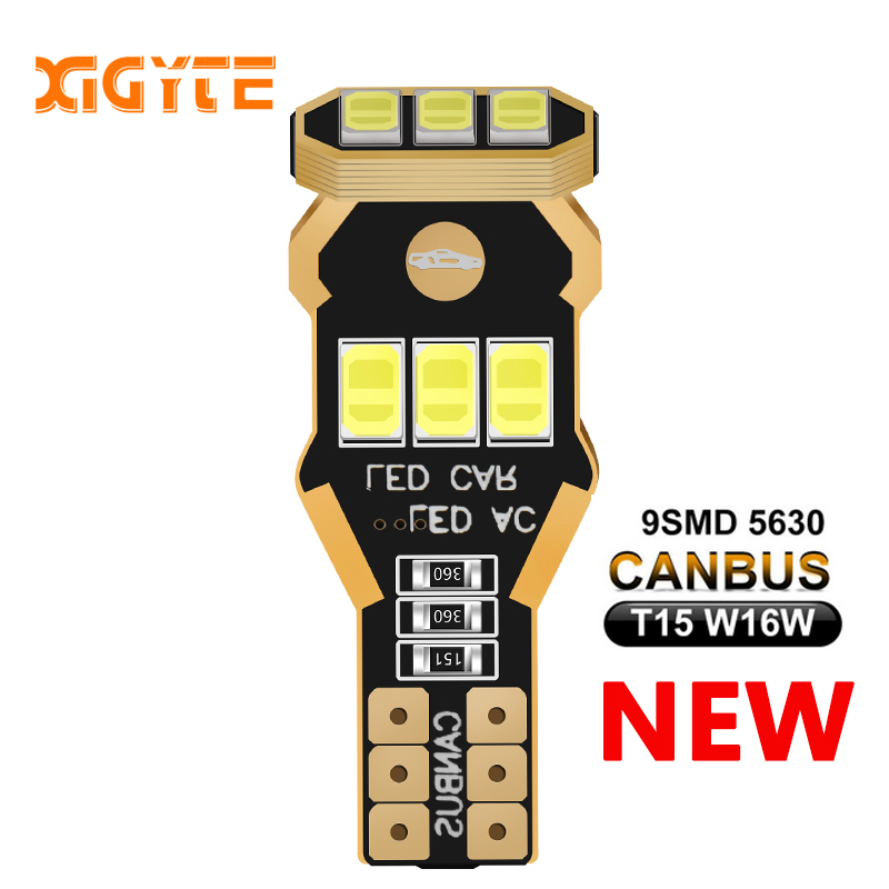 New Canbus T15 W16W LED 921 912 Bulbs Error Free LED Car Reverse Backup Light Auto Lamp 12V White For Alfa Romeo Kia All Models