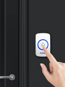 KERUI Doorbell-Button Panic Smart-Receiver Touch SOS Security Home Gate Waterproof Wireless