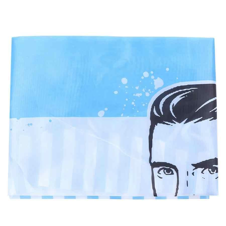 حلاقة الرأس المنزلية حلاق تصفيف الشعر ساحة مكافحة ساكنة ثوب الرأس الأزرق الملمس (160x140 سنتيمتر) تصفيف الشعر أدوات