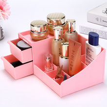With Drawer Makeup Organizer Jewelry And Cosmetic Storage Desktop Box Living Room Stationery New